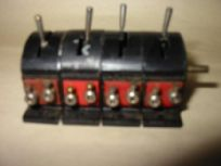 Electric Switches Bank of 4